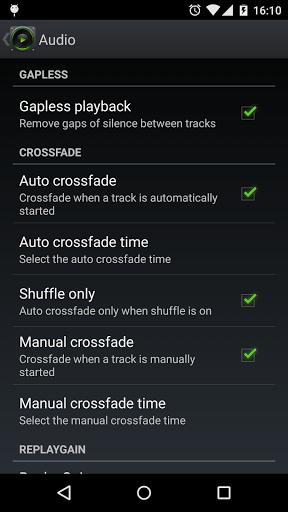 Скриншот PlayerPro DSP pack для Android