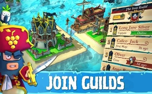 Скриншот Plunder Pirates для Android