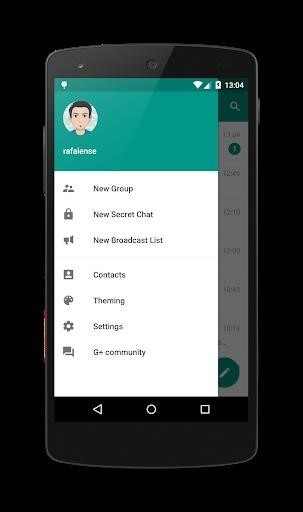 Скриншот Plus Messenger для Android