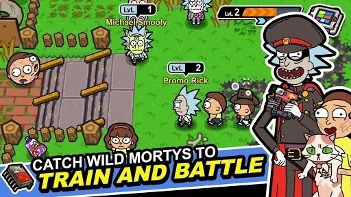 Скриншот Pocket Mortys для Android