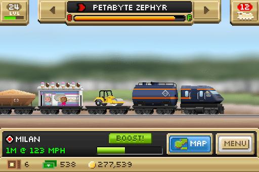 Скриншот Pocket Trains для Android