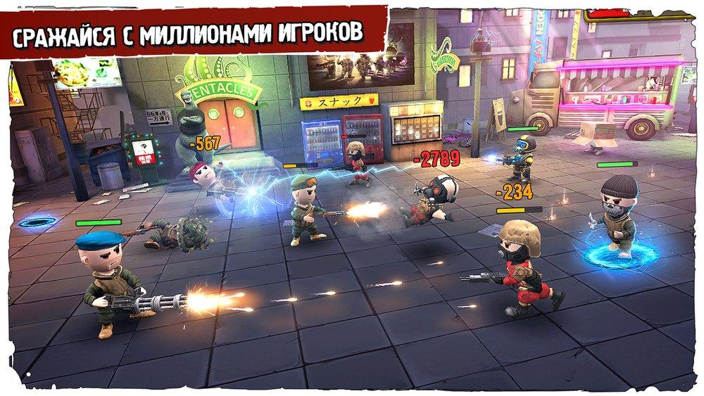 Скриншот Pocket Troops для Android