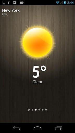 Скриншот Погода — Weather для Android