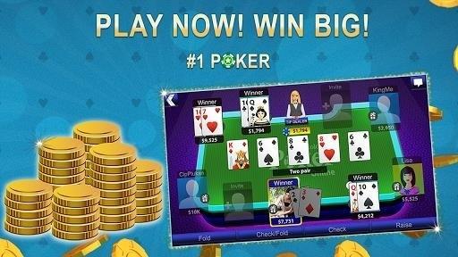 Скриншот Poker Stars для Android