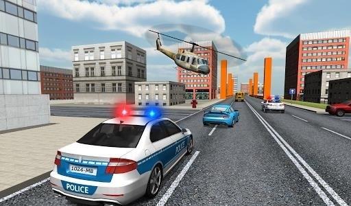 Скриншот Police Car Driver для Android