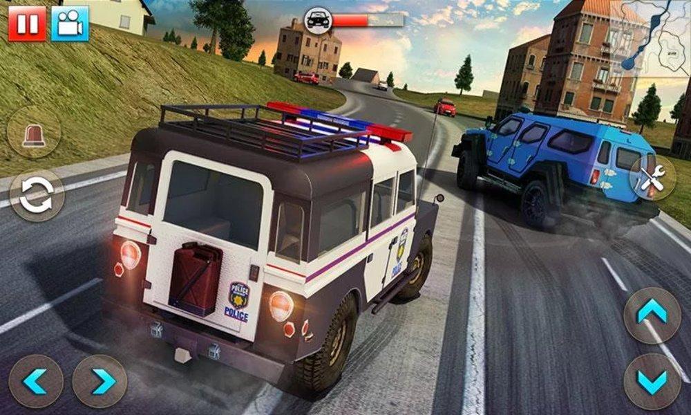 Скриншот Police Car Smash 2017 для Android