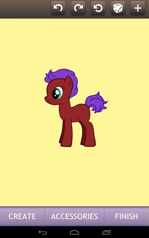 Скриншот Pony Creator для Android