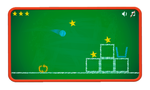 Скриншот Попади в корзину! для Android