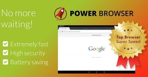 Скриншот Power Browser для Android