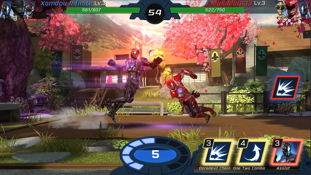 Скриншот Power Rangers: Legacy Wars для Android