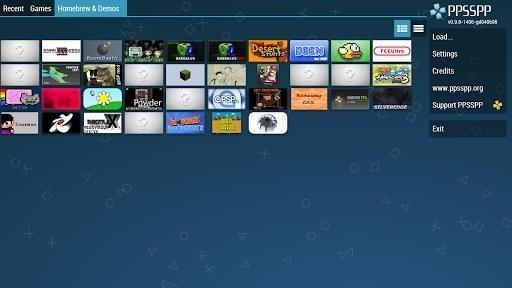 Скриншот PPSSPP — PSP emulator для Android