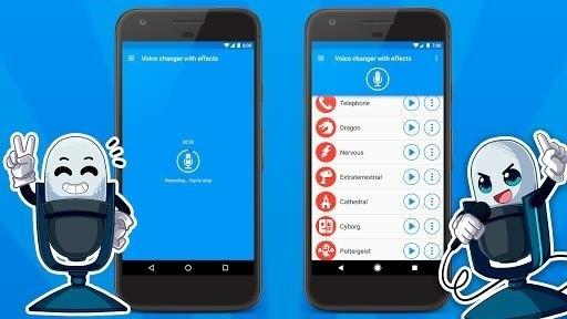 Скриншот Преобразователь голоса для Android