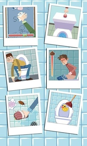 Скриншот Приключения в туалете — Toilet для Android