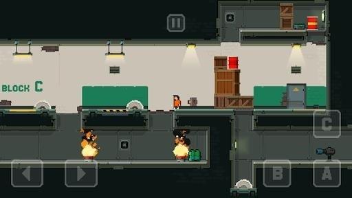 Скриншот Prison Run and Gun для Android
