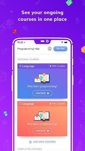 Скриншот Programming Hub для Android
