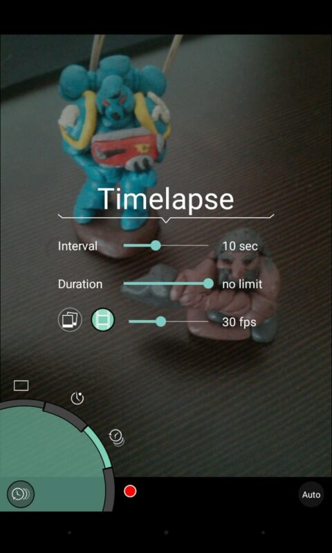 Скриншот ProShot для Android