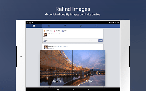 Скриншот Puffin for Facebook для Android