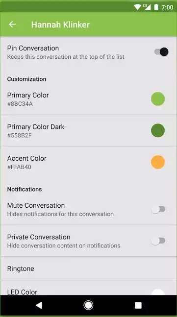 Скриншот Pulse SMS для Android