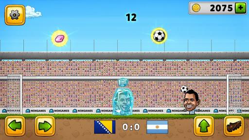 Скриншот Puppet Soccer 2014 — футбол для Android