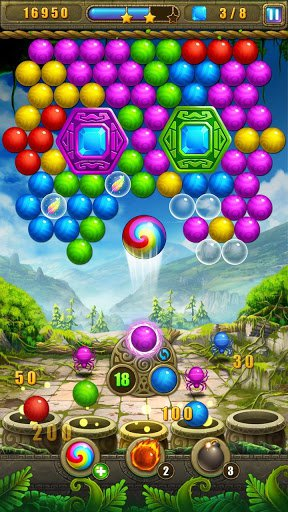 Скриншот Пузырь поиски для Android