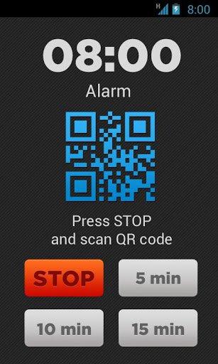 Скриншот Puzzle Alarm Clock для Android