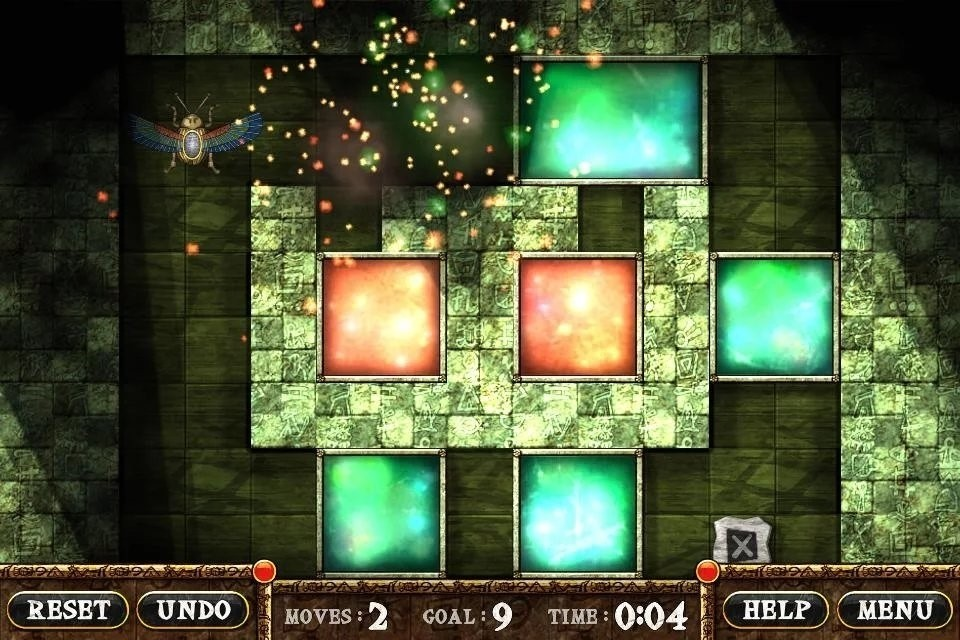 Скриншот Pyracubes для Android