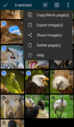 Скриншот Quick PDF Scanner Free для Android