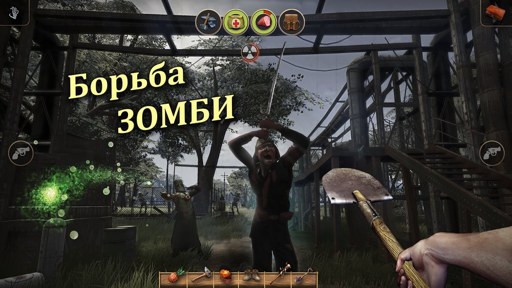 Скриншот Radiation Island для Android