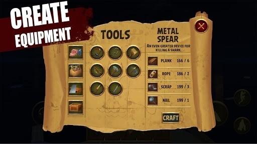 Скриншот Raft Survival Simulator для Android