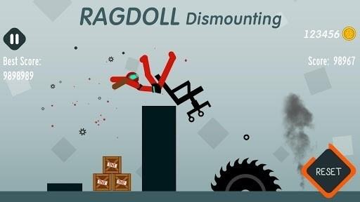 Скриншот Ragdoll Dismounting для Android