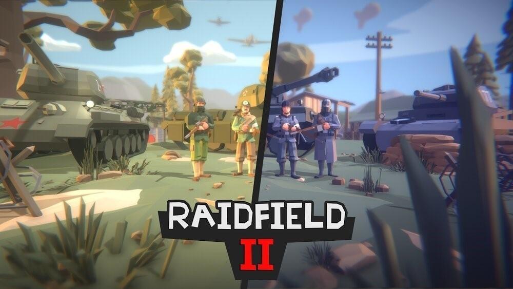 Скриншот Raidfield 2 для Android