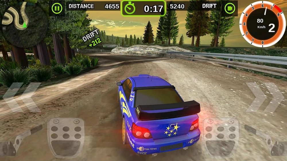 Скриншот Rally Racer Dirt для Android