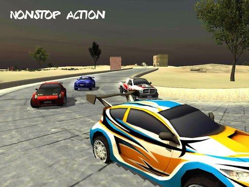 Скриншот Rally Racing 2015 для Android