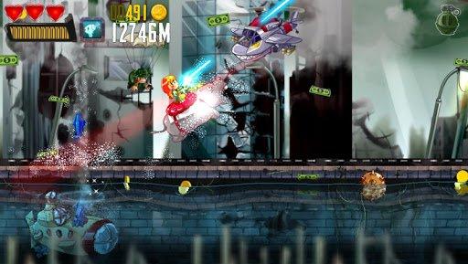 Скриншот Ramboat: Hero Shooting Game для Android