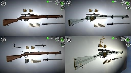 Скриншот Разборка оружия 3D для Android