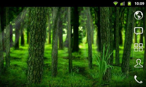 Скриншот RealDepth Лес Живые Обои Free / RealDepth Forest Free LWP для Android