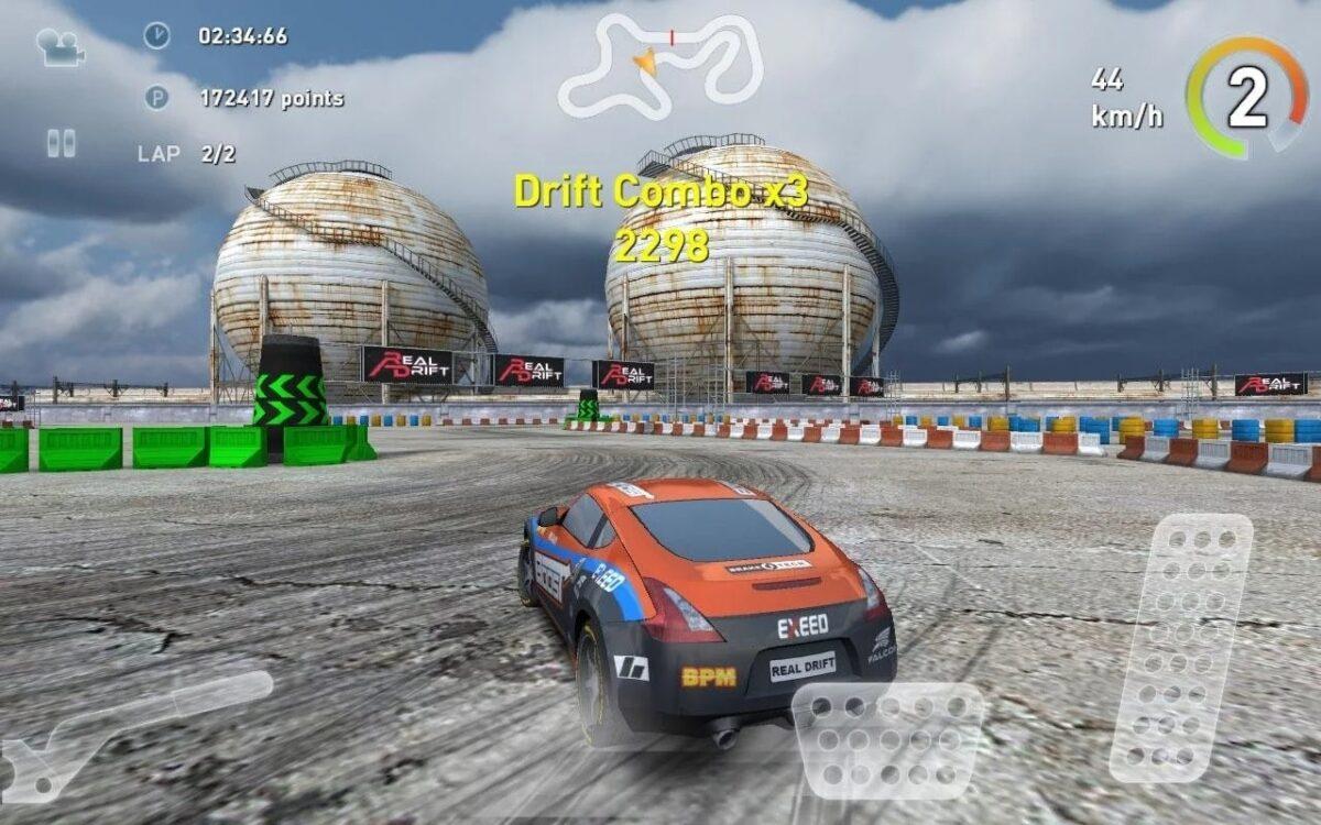 Скриншот Real Drift Car Racing для Android