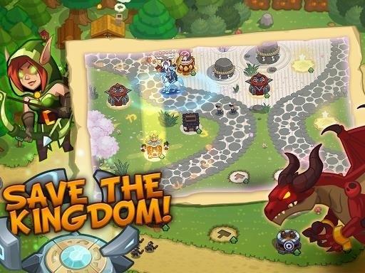 Скриншот Realm Defense для Android