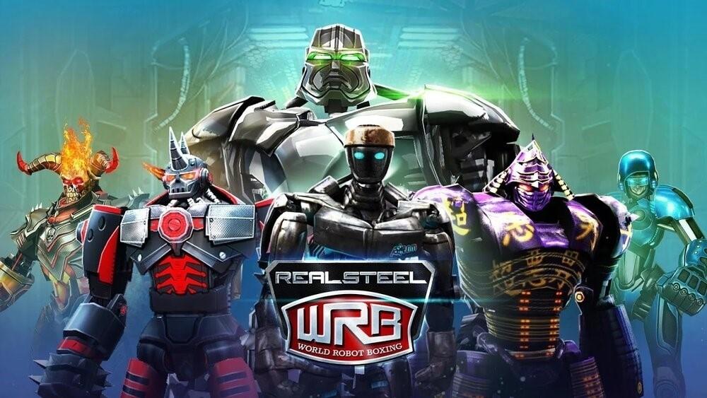 Скриншот Real Steel World Robot Boxing для Android