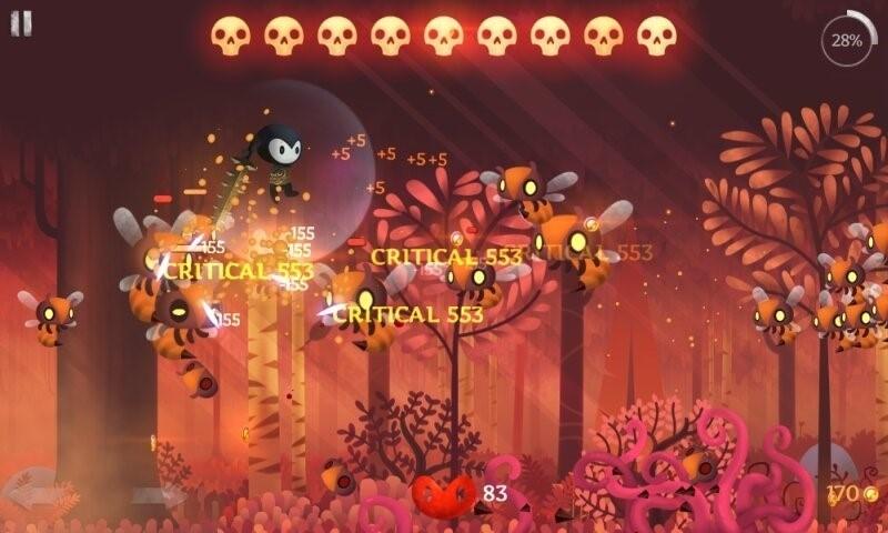 Скриншот Reaper для Android