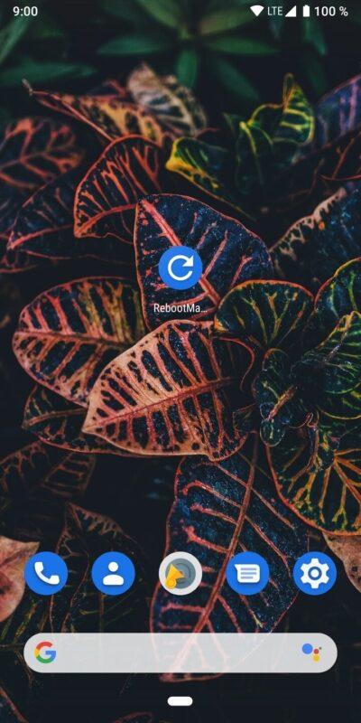 Скриншот RebootManager для Android