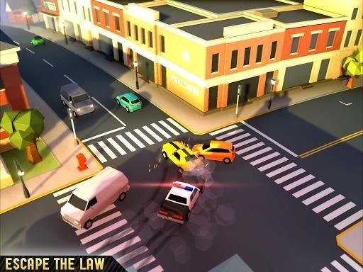Скриншот Reckless Getaway для Android
