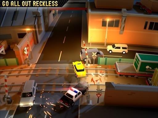 Скриншот Reckless Getaway 2 для Android