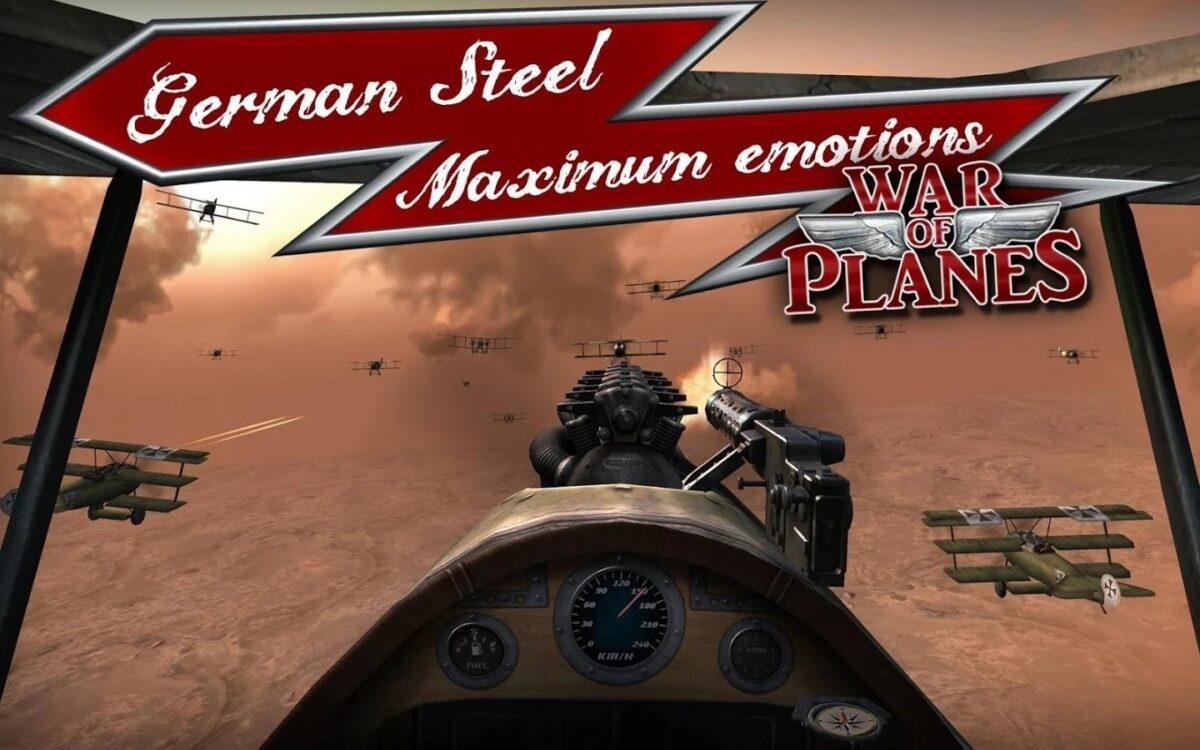 Скриншот Red Baron: War of Planes для Android