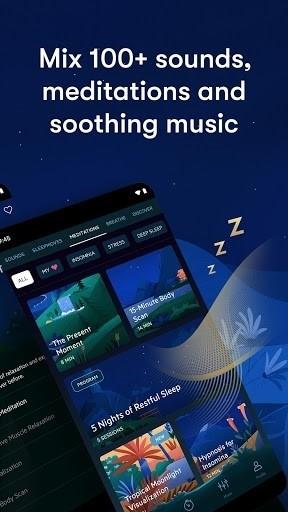 Скриншот Relax Melodies Premium для Android