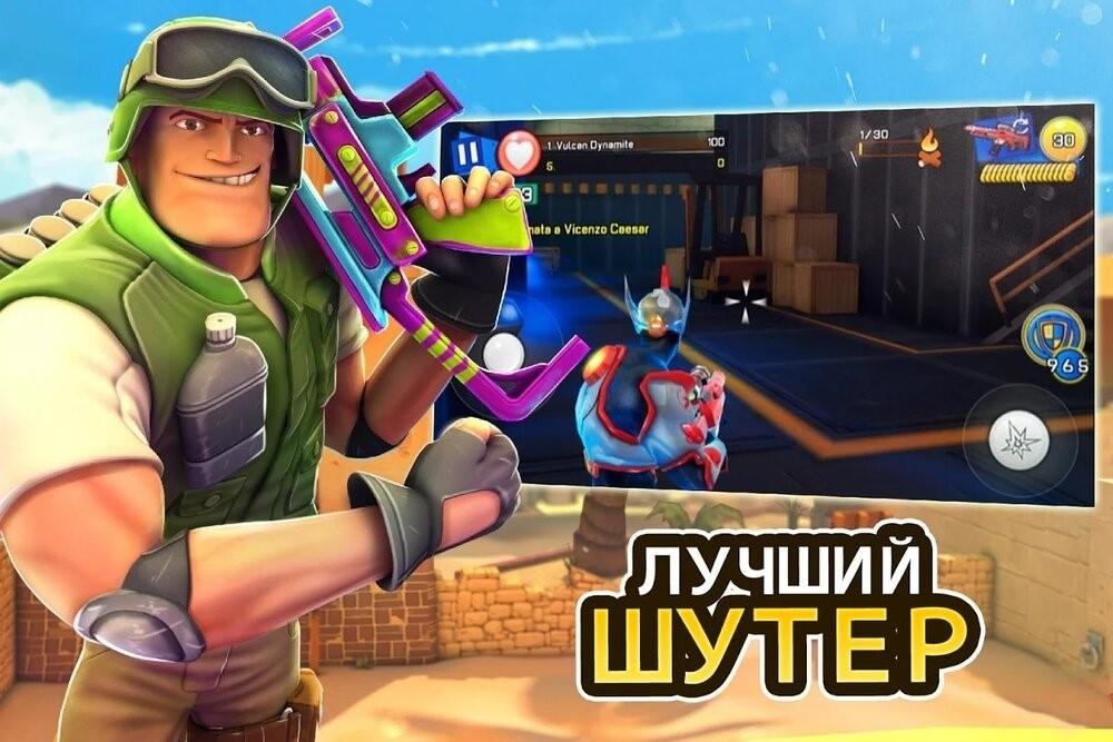 Скриншот Respawnables PvP для Android