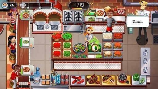 Скриншот Restaurant dash: Gordon Ramsay для Android