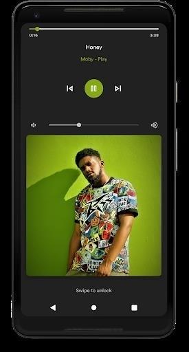 Скриншот Retro Music Player для Android