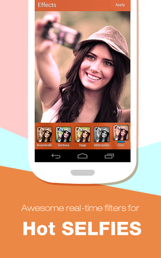 Скриншот RetroSelfie — фото редактор для Android