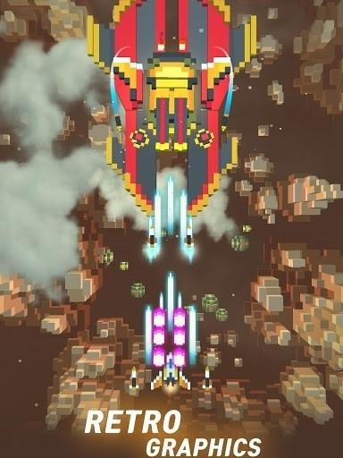 Скриншот Retro Shooting для Android